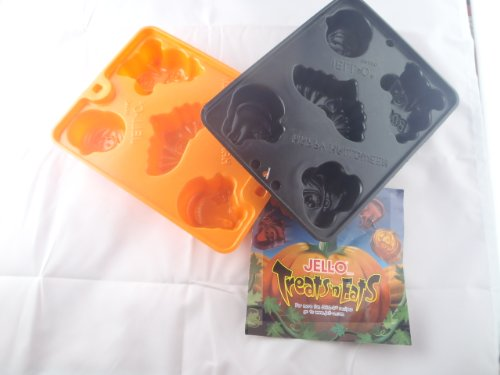 Jello Treats N Eats (Halloween Creepy Jiggler Molds) (Jello Jiggler Molds Halloween)