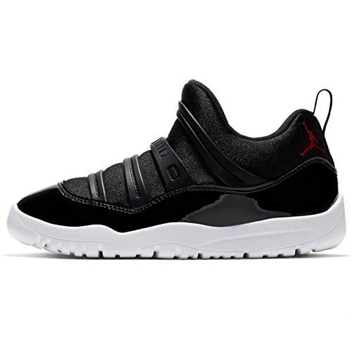 Jordan Retro 11 Little Flex Black/Gym Red-White (PS) (12 M US Little Kid)]()