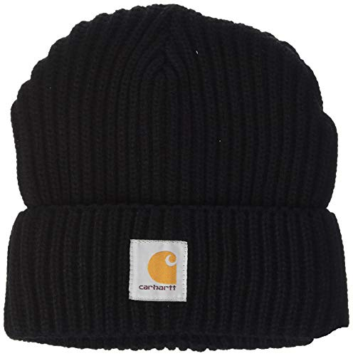 Carhartt Women's Rib Knit Acrylic Hat, Black, OFA
