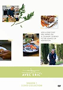 Avec Eric with Eric Ripert, Season 1 (3 DVD Collection)