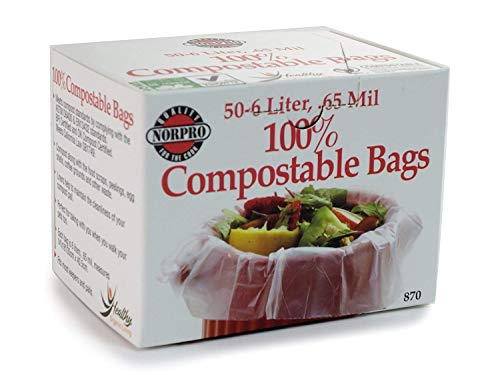 Norpro 100% Compostable Bags, 50 Count (870)
