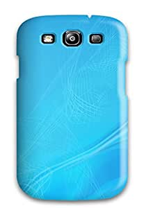 High Quality ZippyDoritEduard Abstract Blue Skin Case Cover Specially Designed For Galaxy - S3