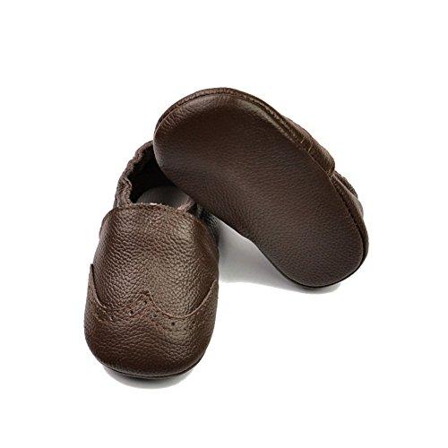 Leap FrogMoccasins Boots - Mocasines bota para niño Solid Brown
