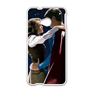 Superman HTC One M7 Cell Phone Case White MS4618084