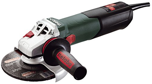Metabo W12-150 Quick 10.5 Amp 600 rpm Angle Grinder with Lock-On Sliding Switch, 6