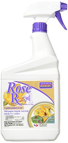 - Bonide 037321008972 Rose Rx 3 in 1 1 Qt