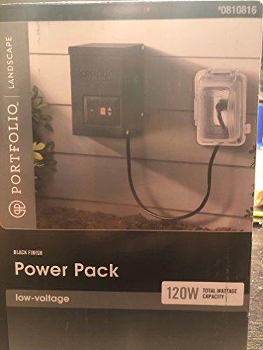 LG Sourcing Portfolio 120 Watt Landscape Power Pack Black Finished
