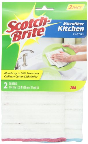 (Scotch-Brite Kitchen Cloth 9032-2, 2 cloths/Pk, 4-pack (total of 8 cloths))