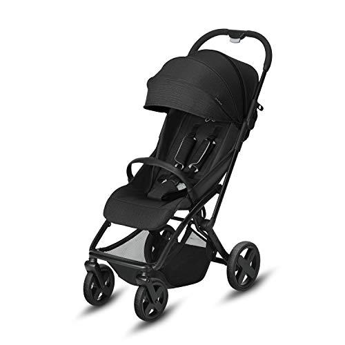 CBX Etu Plus - Silla de paseo, incluye plastico para lluvia, desde el nacimiento hasta los 15 kg, Smoky Anthracite