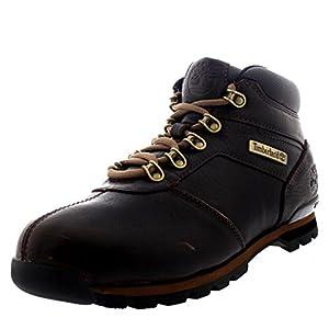 Timberland Mens Splitrock 2 Hiking Brown Walking Leather Ankle Boots - Dark Brown - 9.5