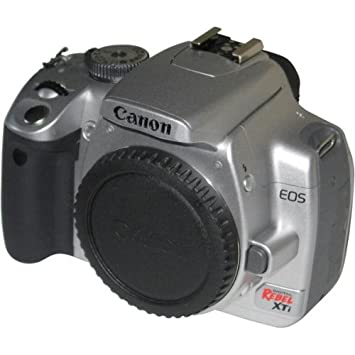 Canon Digital Rebel XTi 10 1MP Digital SLR Camera (Silver Body Only) (OLD  MODEL)