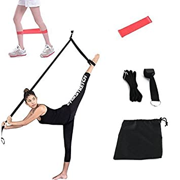Stretch Band Ballet Leg Foot Stretcher For Dance Gymnastics Training