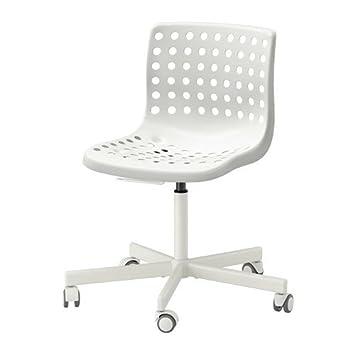 Amazon.com: Ikea SKLBERG / SPORREN Swivel Chair, White 14202.81120.610:  Kitchen U0026 Dining