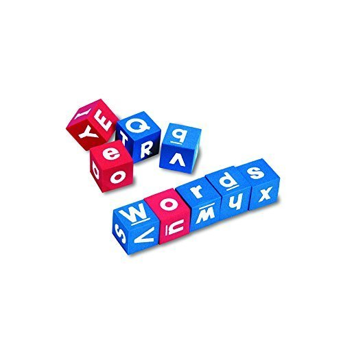 LEARNING RESOURCES HANDS-ON SOFT ALPHABET DICE (Set of 6)