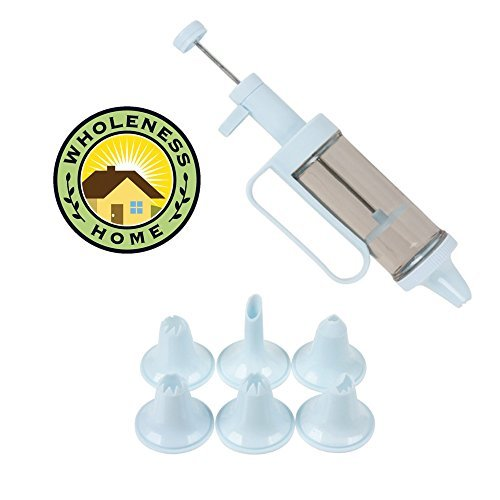 Cake Decorating Kit: 31 Nozzles, 6 Tips All in One Set image
