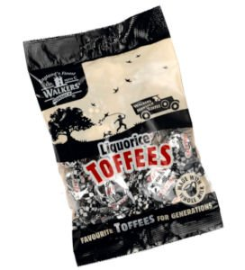 - Walkers Nonsuch Licorice Toffees, 5.3 oz., Five bags
