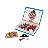 Janod Magnetibook 83 Pc Magnetic Boy Crazy Face