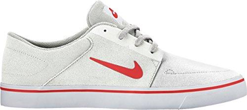 Nike SB Portmore summit white/ max orange talla 47.5