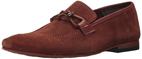 Ted Baker Men's Hoppken Loafer, Dark Tan, 10.5 D(m) Us