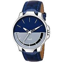 Tulips Fashion Analogue Blue Dial Men's & Boy's Watch