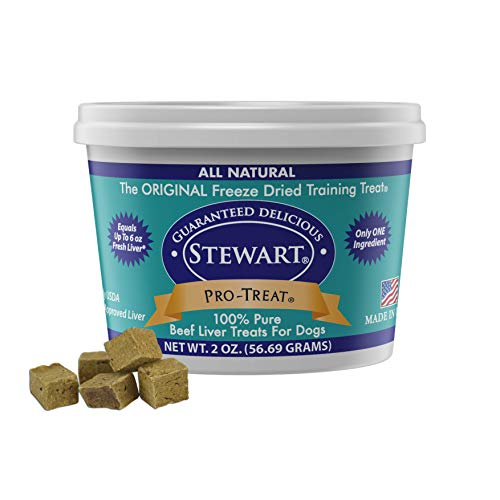 Pro-Treat Stewart Freeze Dried Beef Liver (2 oz)