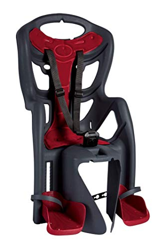 - Bellelli Pepe Standard - Rear Bike Child Seat - Italian Made with Certified Safety Standards