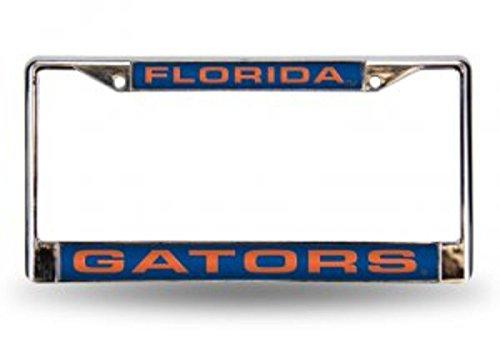 NCAA Florida Gators Laser Cut Chrome Plate Frame
