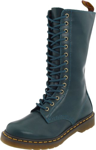 Dr. Martens Women's 1B99 14-Eye Zip Boot - stylishcombatboots.com
