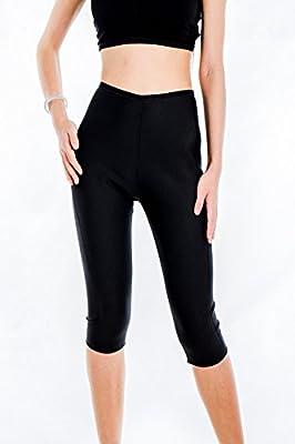 Mystiqueshapes Womens Body Shapers Slimming Pants Hot Thermo Neoprene Sweat Sauna