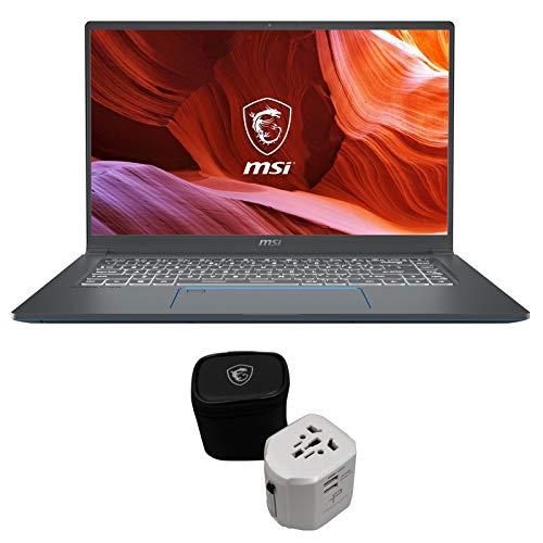 """لپ تاپ حرفه ای MSI Prestige 15 A10SC-011 Enthusiast (i7-10710U، 32 GB RAM، 1TB NVMe SSD، NVIDIA GTX 1650 4GB، 15.6 """"Full HD، Windows 10 Pro)"""
