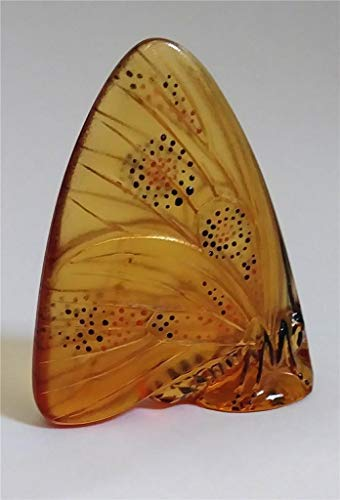 Lalique Butterfly Grand Nacre Amber ()
