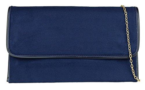 Girly Handbags , Pochette pour femme Bleu Marine