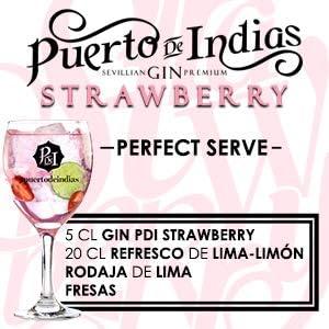 Gin Puerto de Indias Strawberry 70 cl: Amazon.es ...