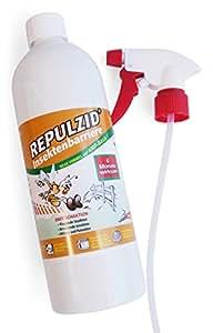 bactenet repulzid de insectos barrera 1000ml, universal Mosquitera Contra Insectos Medio Insectos Spray Control de Plagas