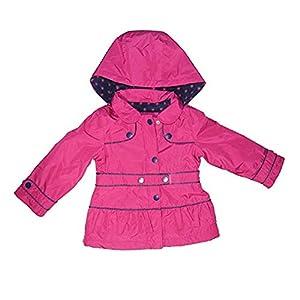 London Fog Girls - Rain Jacket, Fuchsia, 6X