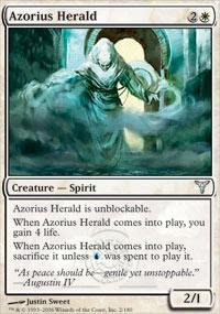 Magic: the Gathering - Azorius Herald - Dissension