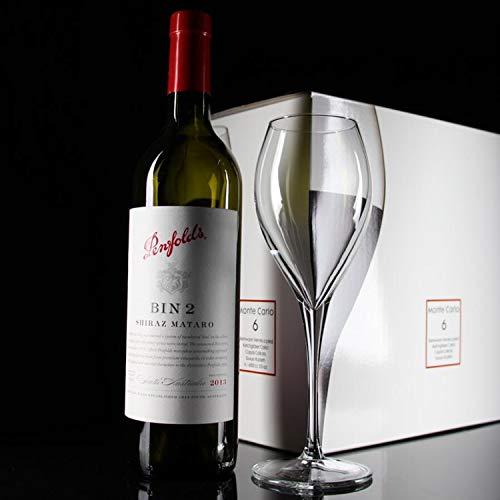 Monte Carlo Wine - Loroude Red wine glass Transparent glass Monte Carlo goblet red wine glass 6 packs transparent, 325 ml