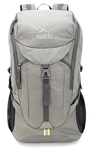 b8c9f10f89 Venture Pal Hiking Backpack - Packable Durable Lightweight Travel Backpack  Daypack for Women Men(grey