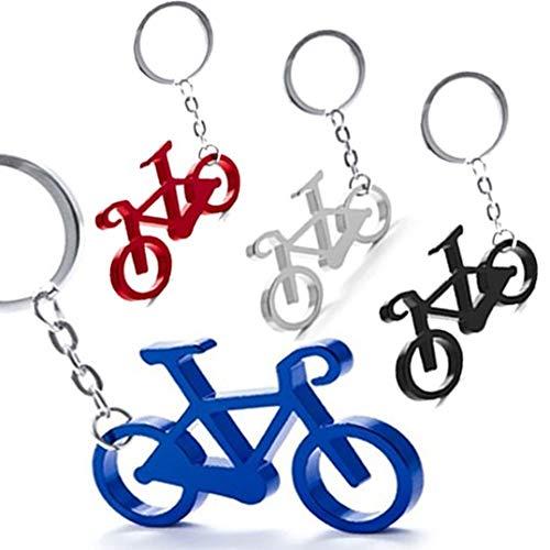 Lote de 50 Llaveros Aluminio BICICLETA - Llaveros de Aluminio de colores en Forma de Bicicleta - Llaveros para Carreras ciclistas, Vueltas Ciclistas. ...