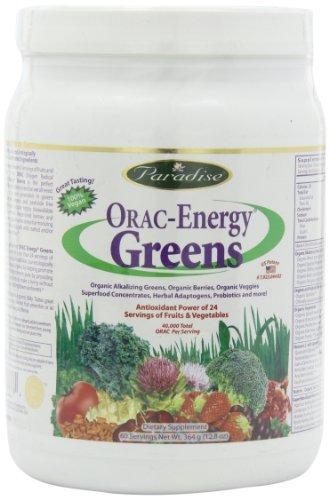 Paradise Herbs Orac Energy Powder, Greens (25.6 oz) by Paradise Herbs