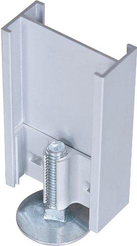 Best-Rite Standard Modular Panels, 2 Way Straight Connector with Adjustable Leg, Single (66207)