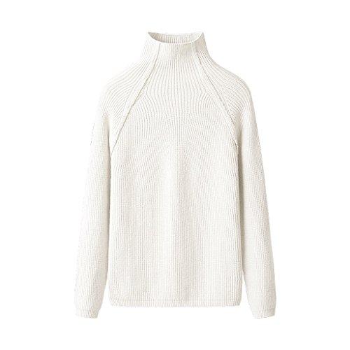 Otoño color Las Suéter De Mujeres Xiang Delgado Shi Li Metro Punto Tamaño E Invierno Shop E Blusa BYnv7q