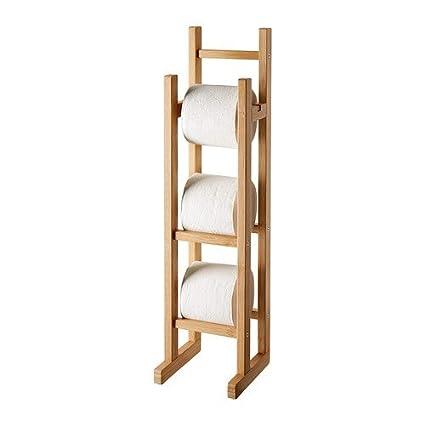 Ikea ragrund – Papel higiénico Soporte bambú