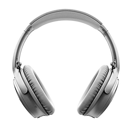 Bose QuietComfort 35 II Wireless Bluetooth Headphones, Noise-Cancelling, with Alexa voice control, enabled with Bose AR - Silver