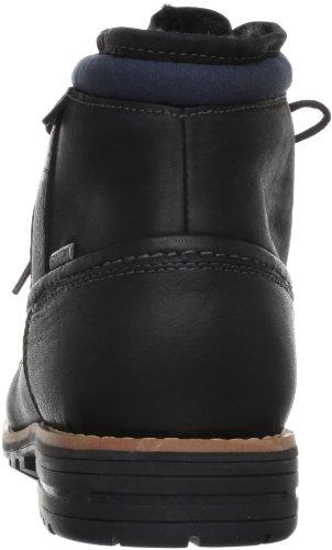 Clarks Midford Up GTX 203519397 - Botas de cuero para hombre Negro