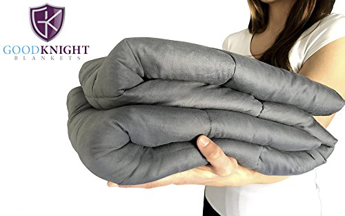 "Good Knight Weighted Blankets For Autism | ADD | Stress | Anxiety | 60""x80"" 15 lbs 