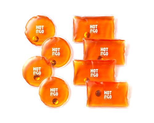 Hot to Go Reusable Heat Packs - Buy 4 Get 4 Free! (Instant Heat Pack)