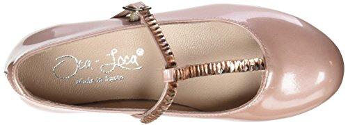Oca Loca Mädchen 7000-09 Geschlossene Ballerinas Rosa (Rosa)