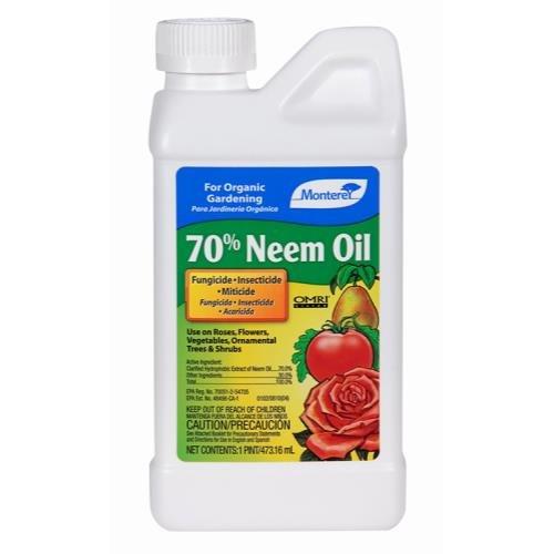 Monterey 70% Neem Oil Conc. Pint