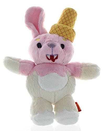 WhimWham Bunny Ice Cream Cone Vampire 10-Inch Plush by The Coop (Vampire Bunny)